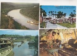 GUYANE  CARTE ANNEES 1960  NON CIRCULEES 6 CARTES - Cayenne