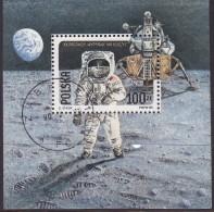 POLAND 1989 Space Fi Blok. 95B Used - 1944-.... Republiek