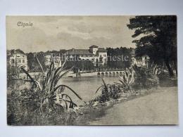 LUSSINO Lošinj Dalmazia Croazia Hrvatska CIGALE LUSSINPICCOLO AK Postcard Cartolina Panorama 12537 - Croazia