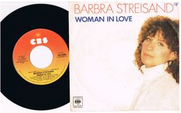 4- Italia  - 45 Giri - Barbara Streisand - Woman In Love - Run Wild - Collezioni