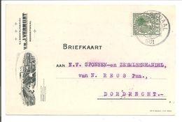 Veth.Briefkaart Met Reclame-bijdruk.Vermunt Roosendaal - 1891-1948 (Wilhelmine)