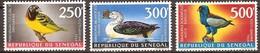 Senegal 1968 Yvertn° PA 65-67 *** MNH Cote 30 Euro Oiseaux Vogels Birds - Sénégal (1960-...)