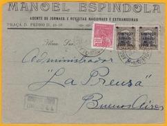 1929 - CGA - Cie Générale Aéropostale - Lettre Commerciale De Maceio, Brésil Vers Buenos Aires, Argentine - Cad Arrivée - Poste Aérienne (Compagnies Privées)