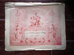 Diplôme 1903 : Concours De Bébés - Beauté Santé Hygiène - Illustration Art Nouveau - Bébé Mr Lugez - Diplômes & Bulletins Scolaires