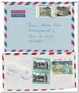 Honduras, 2 Envelopes - Honduras