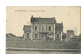 WIMEREUX - EXTERIEUR DE LA GARE - Andere Gemeenten