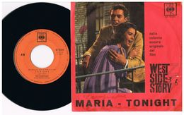 7 - Italia  - 45 Giri - Maria Tonight - West Side Story - Maria - Collezioni