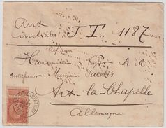 1897, 10 Cent  , Tarif Frontarlier  , #8839 - 1893-1900 Fine Barbe