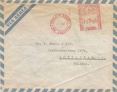 "Argentina 1963 Buenos Aires Meter Franking Hasler ""F88"" 153 EMA Cover - Argentinië"