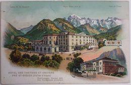 HOTEL DES THERMES ET UNIVERS PRE ST-DIDIER (Vallée D'Aoste) - Italy
