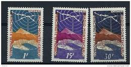 "Monaco YT 376 à 378  "" Radio Monte-Carlo "" 1951 Neuf** - Unused Stamps"