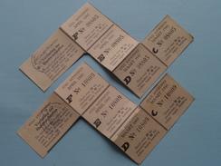 GOED Voor STEENKOLEN Of COKES 1945 Rantsoenering > Antwerpen ( Zie Foto's Voor Detail AUB ) ! - Cachets Généralité