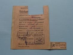 KOLEN / RANTSOENERINGSKAART > Antwerpen ( Zie Foto's Voor Detail AUB ) ! - Seals Of Generality