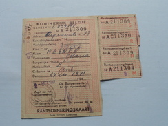 RANTSOENERINGSKAART > Antwerpen ( Zie Foto's Voor Detail AUB ) ! - Seals Of Generality