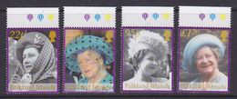 Falkland Islands 2002 Queen Mother 4v  (+margin) ** Mnh (37019A) - Falklandeilanden