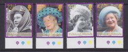 Falkland Islands 2002 Queen Mother 4v  (+margin) ** Mnh (37019B) - Falklandeilanden