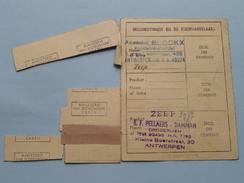RANTSOENERINGSKAART Drogerijen / Zeep > Antwerpen ( Zie Foto's Voor Detail AUB ) ! - Seals Of Generality