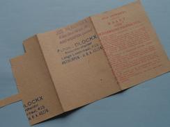 KAART Voor SCHAARSCHE Produkten / Kruidenier > Antwerpen ( Zie Foto's Voor Detail AUB ) ! - Seals Of Generality