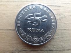 Croatie  5  Kuna  2002  Km 23 - Croatia
