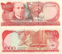 COSTA RICA   1'000  Colones   P264d  Dated  9-4-2003  UNC - Costa Rica