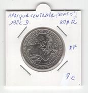 Etat D'Afrique Centralenon. 500 Francs1982D. Non Nettoyée. KM# 12. XF - Central African Republic