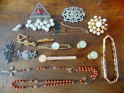 LOT DE BIJOUX ANCIEN - Bijoux & Horlogerie