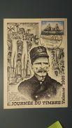 Journée Du Timbre - N°1446 -  Carte Postale Valence 27/3/65 - 1960-1969