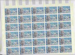 Monaco 1972 Roald Amundsen 1 V Complete Sheetlet (2x Folded)  ** Mnh (F6783) - Postzegels