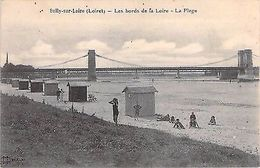 SULLY SUR LOIRE - Les Bords De La Loire - La Plage - Pont - CABINES - Francia