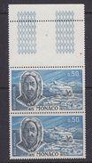 Monaco 1972 Roald Amundsen 1v  (pair) ** Mnh (F6783D) - Zonder Classificatie