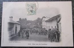 Indochine Une Rue De Laokay  Cpa Timbrée - Vietnam