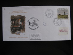 TAAF: TB Enveloppe, Affranchie Avec N°329 , Datée Du 09/04/2002 De Alfred Faure - Crozet . - Other