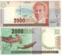 COSTA RICA   2'000  Colones   P265a     Dated 30-7-1997 UNC - Costa Rica