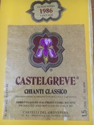 5520 -  Castelgreve Chianti Classico 1986 1,5 Litre - Bloemen