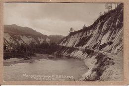 NOUVELLE ZELANDE - CARTE PHOTO , MANGAWEKA GORGE , N.Z. 837 F.G.R. MAIN TRUNK RAILWAY - Nouvelle-Zélande