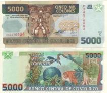 COSTA RICA   5'000  Colones   P268Ab    Dated 14-9-2005      UNC - Costa Rica
