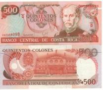 COSTA RICA   500  Colones   P262a    Dated 6-7-1994    XF - Costa Rica