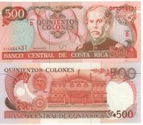 COSTA RICA   500  Colones   P262a    Dated 6-7-1994   UNC - Costa Rica