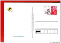Entier-Carte Illustrée-Fête Du Timbre 2011-Protégeons La Terre-Plantation-Ecologie- 2 Scans - Postal Stamped Stationery