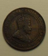 1909 - Canada - ONE CENT, EDWARD VII, KM 8 - Canada