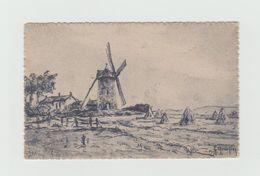 CPA - MOULIN - Signée - Ansichtskarten