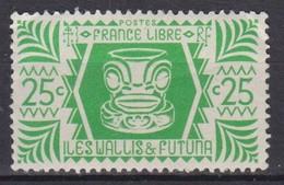Wallis & Futuna, 1944 - 25c Ivi Poo - Nr.129 MNH** - Used Stamps