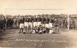 FOOTBALL KOTORIBA-JELEKOVEC 1931 - Croacia
