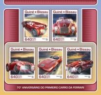 Guinea Bissau 2017 Car Automobile Ferrari - Guinea-Bissau