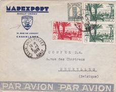 Lettre De Maroc 1949. - Maroc (1956-...)