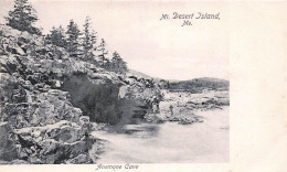 ME Maine - Mt. Desert Island - Anemone Cave USA - Etats-Unis