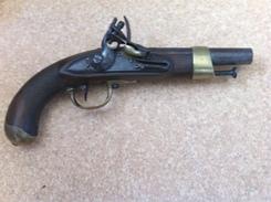 Pistolet  Modéle AN  9  Réglementaire Modifié - Armes Neutralisées