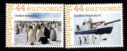 Nederland Persoonlijke Zegel: Thema: Antartica R.F. Scott + Pinguin -4 - Maritiem Leven