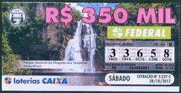 BRAZIL -  LOTTERY TICKET  - WATERFALL - Lottery Tickets