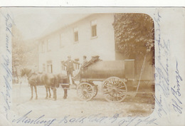 Pferdegespann - Orig. Fotokarte - 1903     (171020) - Ansichtskarten